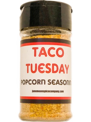 Popcorn Seasoning 4 Pack | Cinnamon Sugar | Cilantro Lemon | Taco Tuesday | Rosemary Parmesan