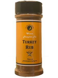 Pumpkin Pie Turkey Rub
