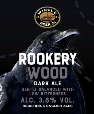 Seasonal Ale Rookery Wood (Alc.3.8%) 500ml 12 bottle case