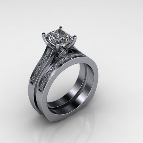 Custom diamond engagement ring by Spexton Jewelry Store in Tulsa