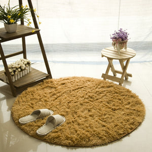 Fluffy Round Rugs - DForDecor