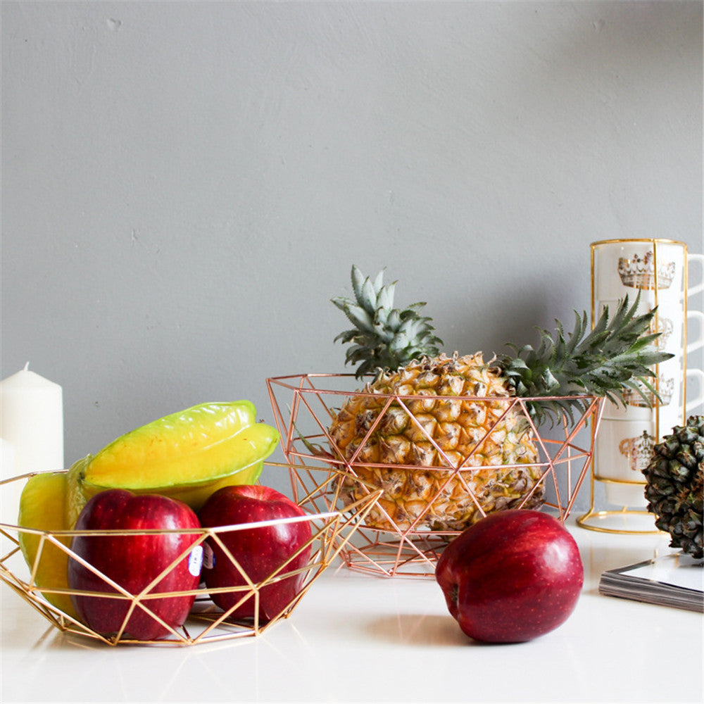 Stylish Table Storage Basket