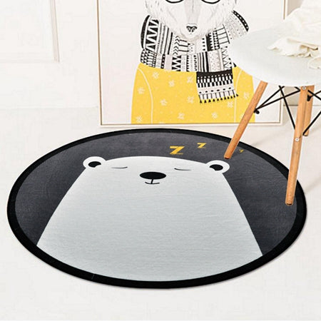 Cartoon Round Play Mat