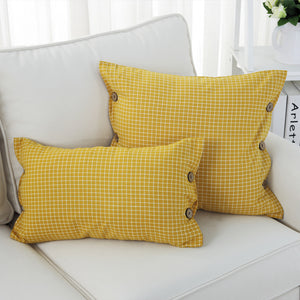 Nordic Style Plaid Cushion Cases