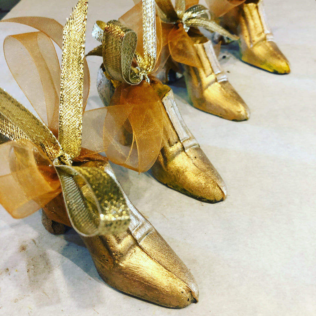 Cinderella Golden Chocolate Shoe
