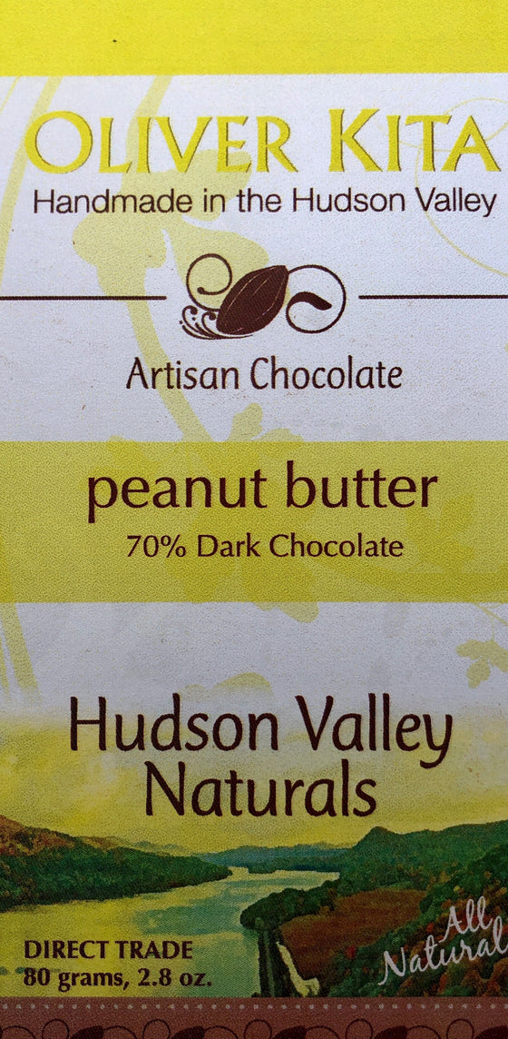 All Natural Dark Chocolate 70% with Peanut Butter