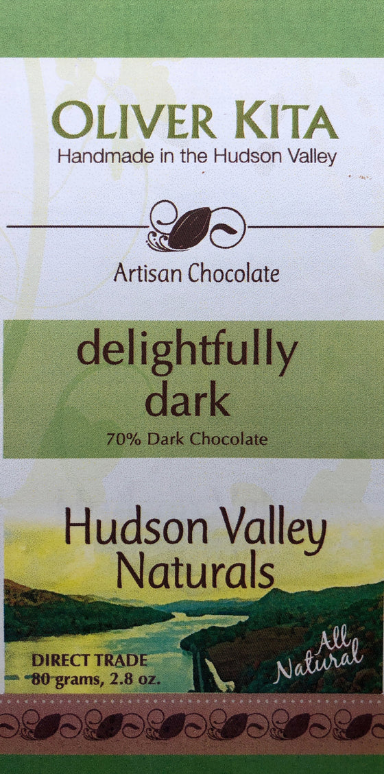 Delightfully Dark  - 70% Dark All Natural Bar