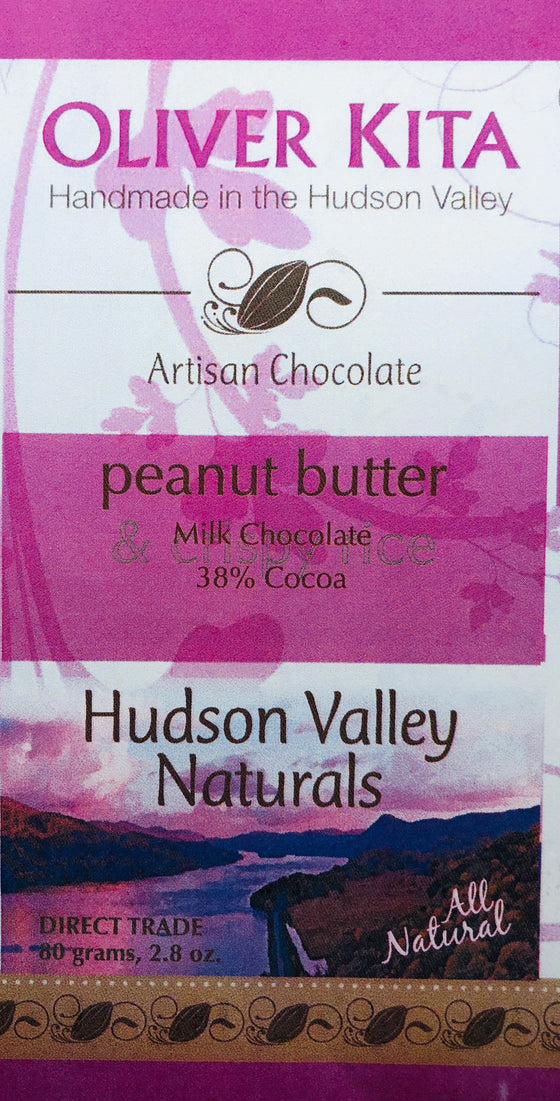 All Natural 38% Milk Chocolate with  Peanut Butter