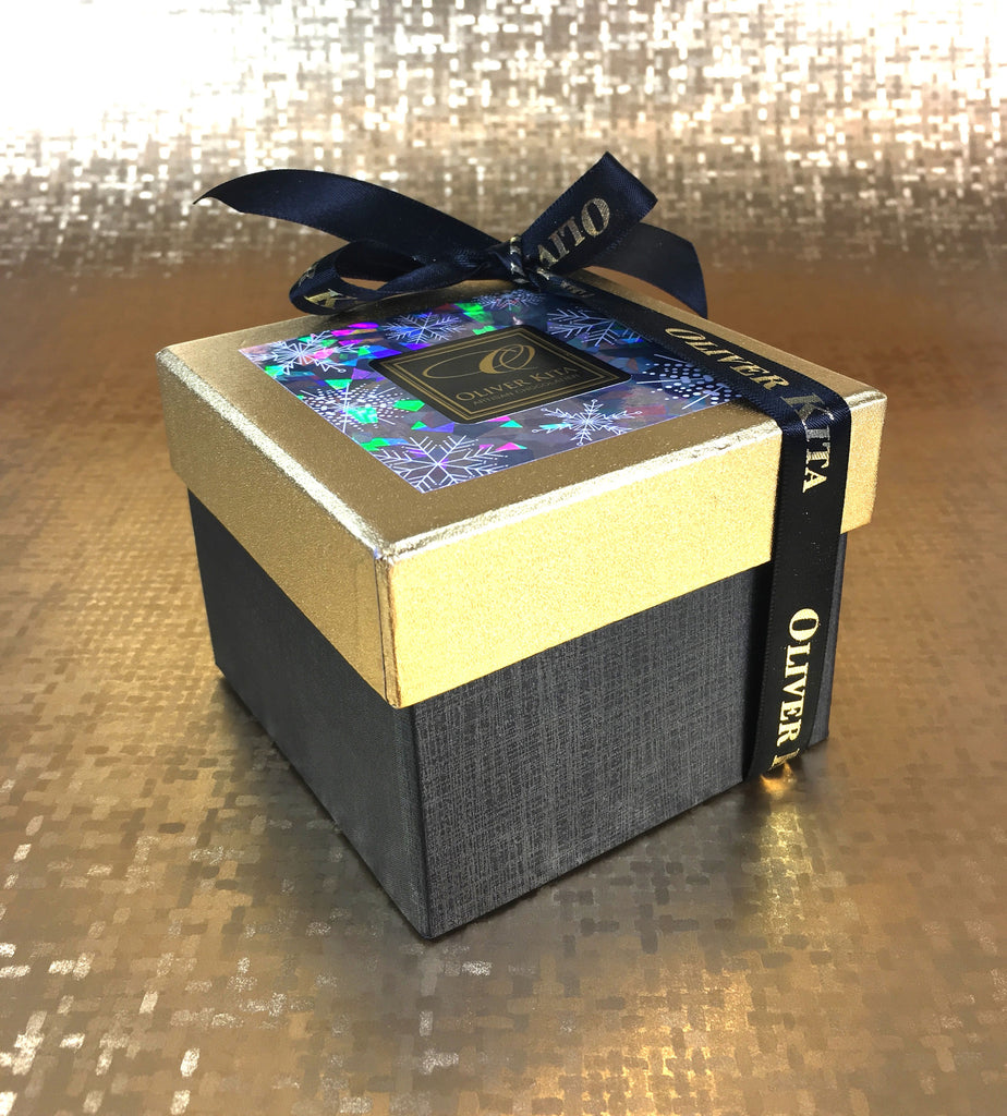 12 Piece - Gold and Onyx Gift Box