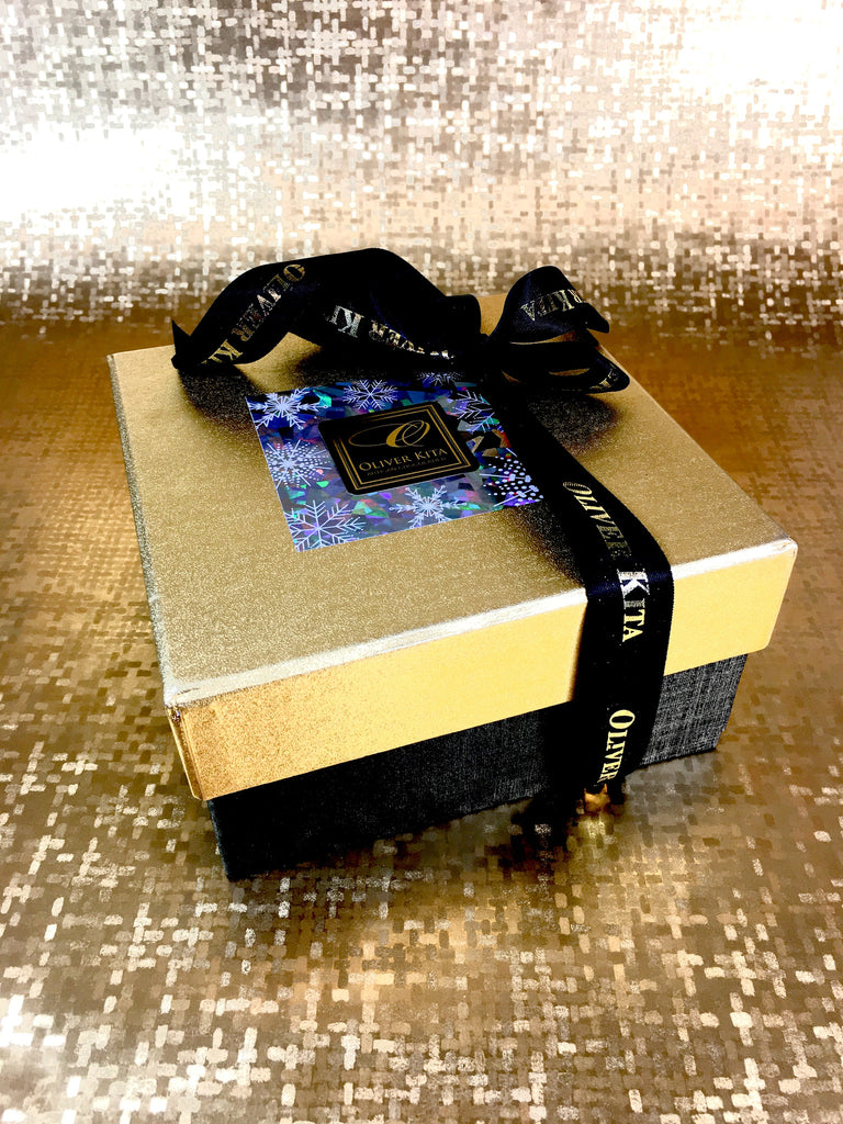 32 Piece - Gold and Onyx Gift Box