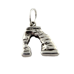 delicate arch charm sterling silver arch charm utah charms