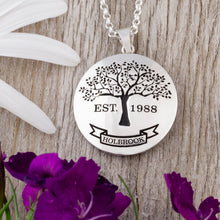 Load image into Gallery viewer, Family Tree Necklace - Full - Precision