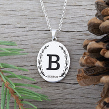 Load image into Gallery viewer, Initial Name Necklace Initial Jewelry