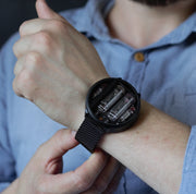 NIWA Nixie watch V 2.0 - Titanium Black