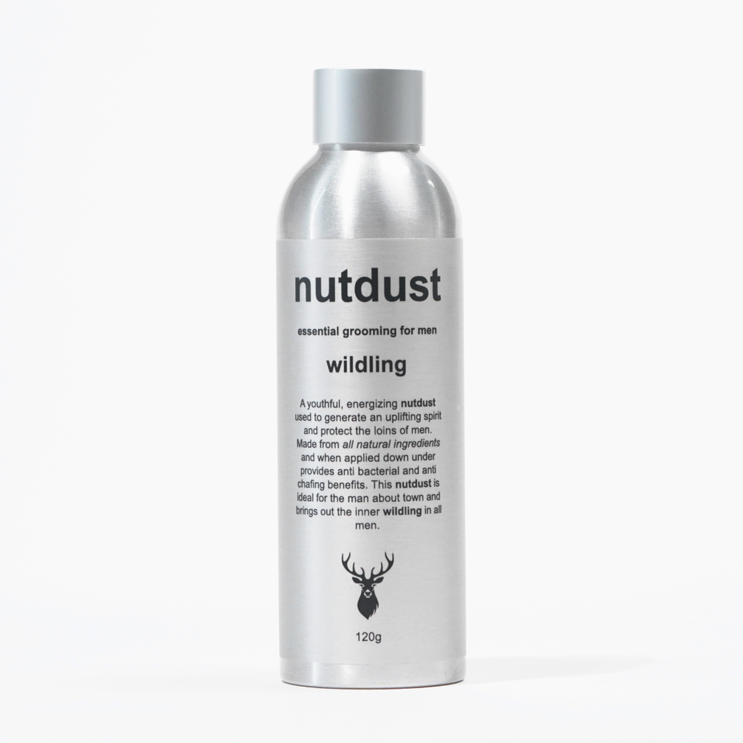 nutdust wildling - mens body powder
