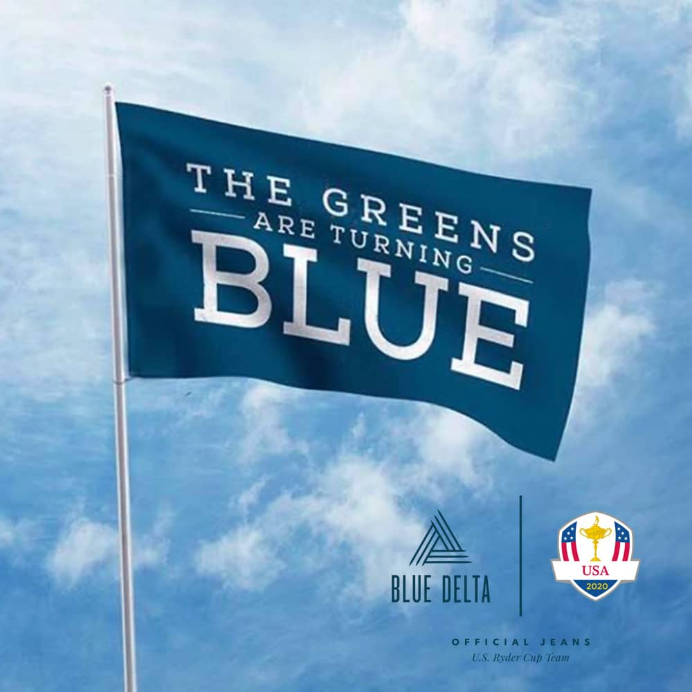 Blue Delta Jeans named official jean of US Ryder Cup Team