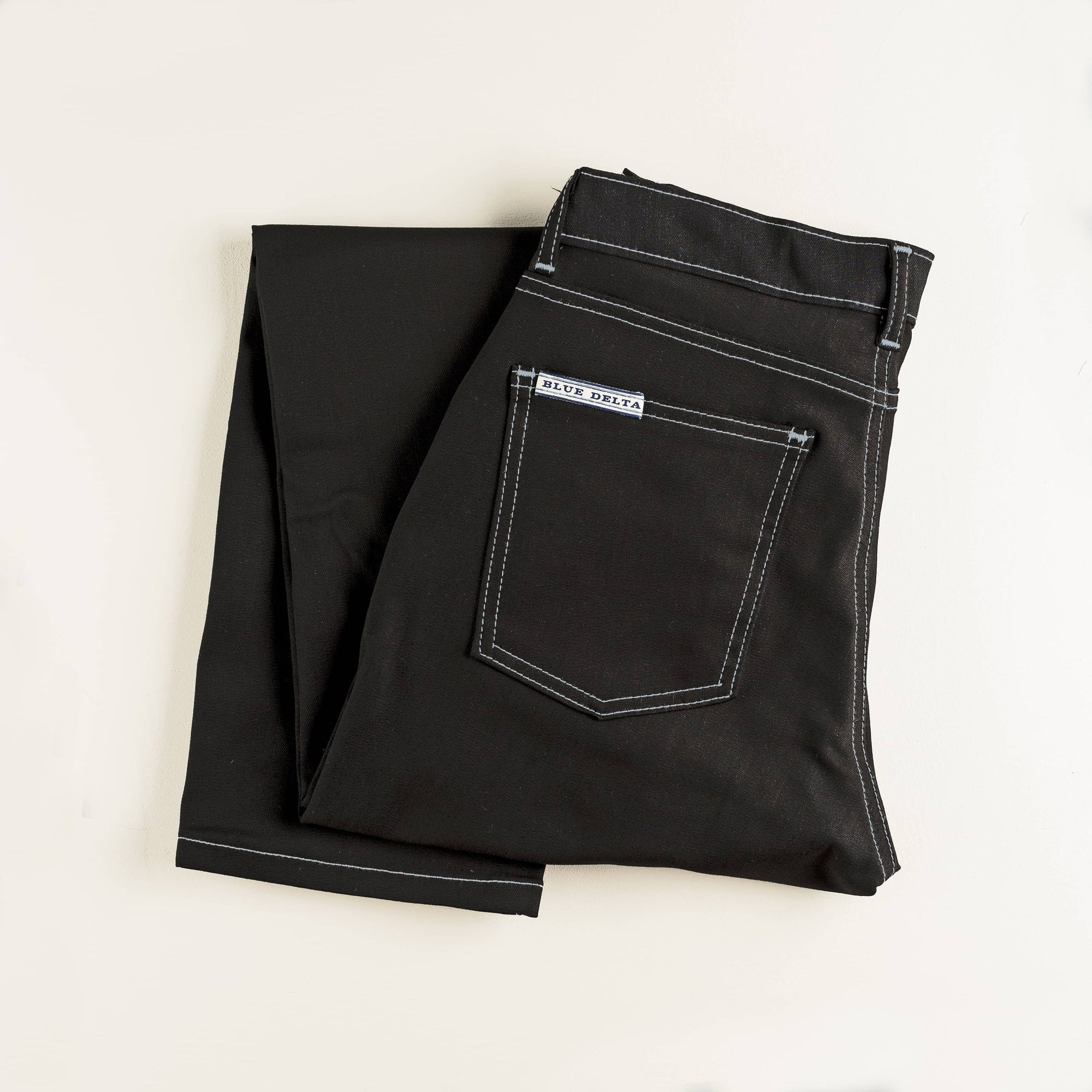 Super Black Denim Jeans