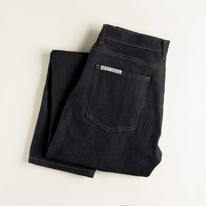 Dark Smooth Denim Jeans