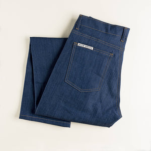 Women's Natural Indigo Denim Jeans