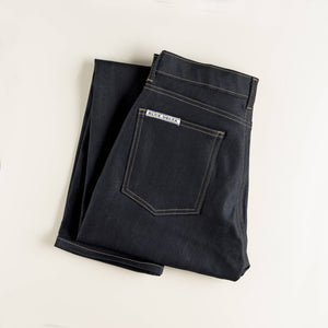 Indigo Smooth Denim Jeans