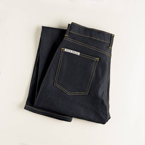 Women's Indigo Smooth Denim Jeans
