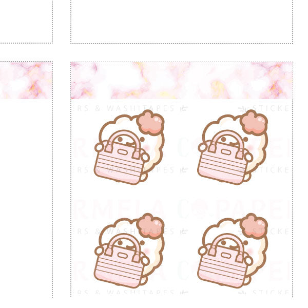 Bags ♡ Cotton 2.0 Planner Stickers