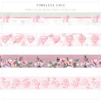 Mauve Frost - Timeless chic collection ♡ Washi tape