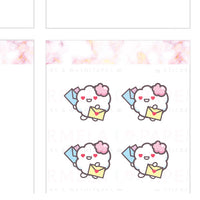 Happy mail ♡ Cotton Planner Stickers