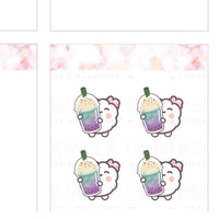 Mermaid Shake ♡ Cotton Planner Stickers