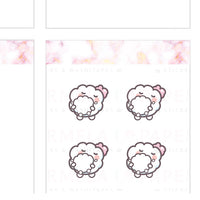 Mom care ♡ Cotton Planner Stickers