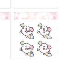 Shopping ♡ Cotton Planner Stickers