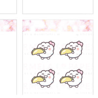 Tacos ♡ Cotton Planner Stickers