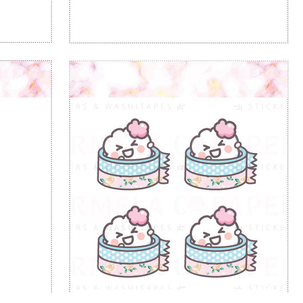 Washi ♡ Cotton Planner Stickers