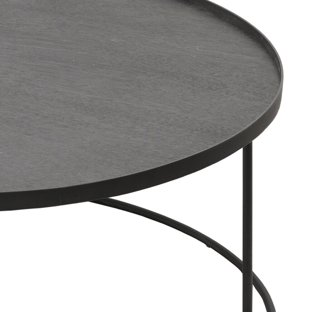 ROUND TRAY TABLE BASSE XL