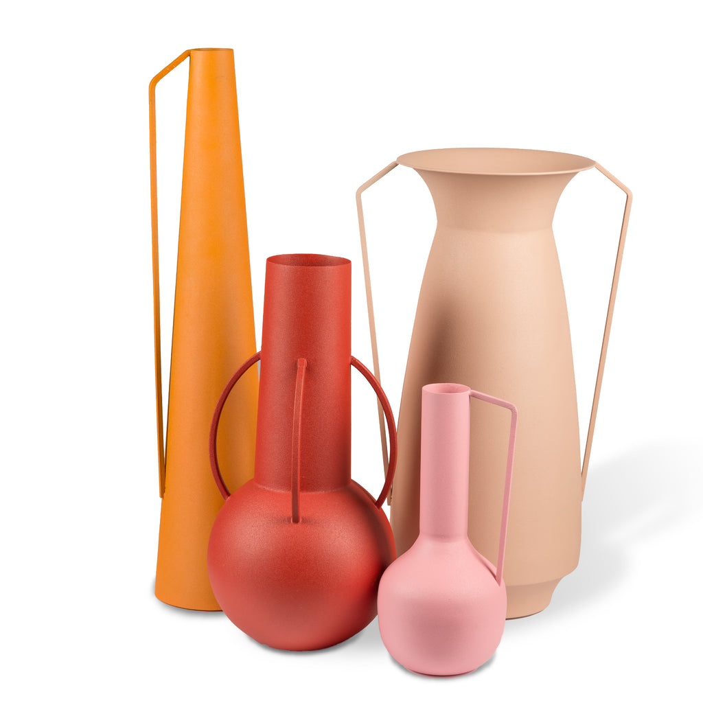 VASES ROMAN SUNSET / SET DE 4