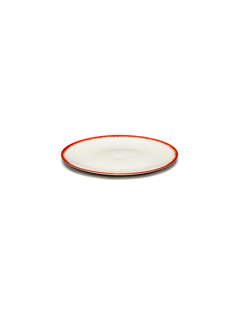 SET 2 ASSIETTES DÉ OFF-WHITE/RED - D14
