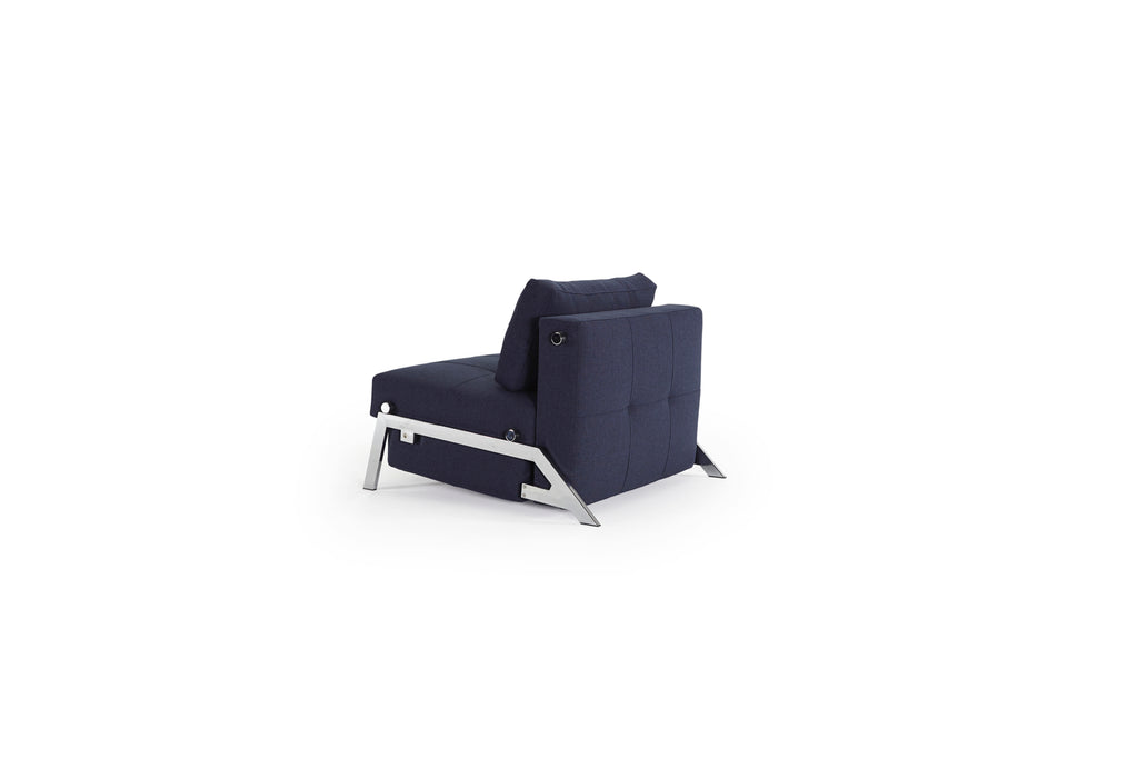 "Fauteuil convertible ""Cubed 90 Chrome"""