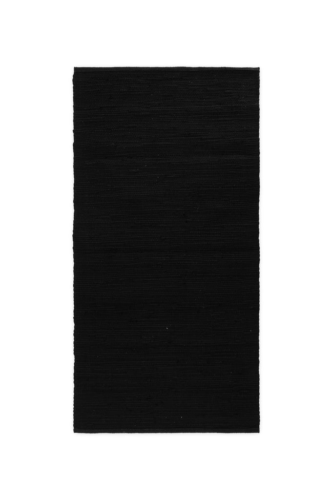 TAPIS COTTON NOIR