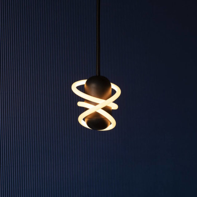 CURLY AMPOULE LED
