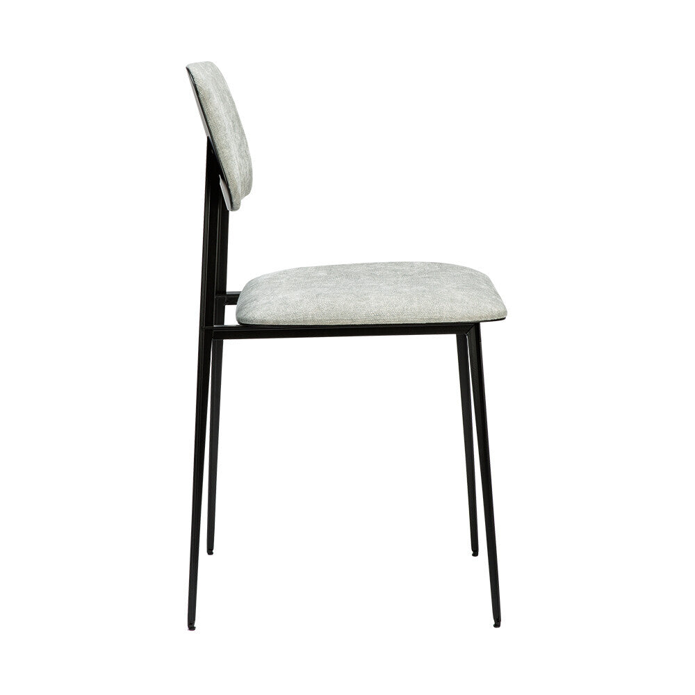 CHAISE DE TABLE DC- GRIS CLAIR