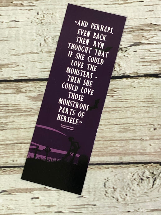Book Club Exclusive Bookmark - The Bone Houses