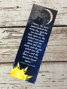Book Club Exclusive Bookmark - Spin the Dawn