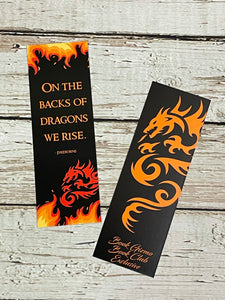 Book Club Exclusive Bookmark - Fireborne
