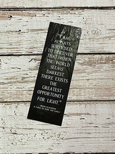 Book Club Exclusive Bookmark - A Curse So Dark and Lonely