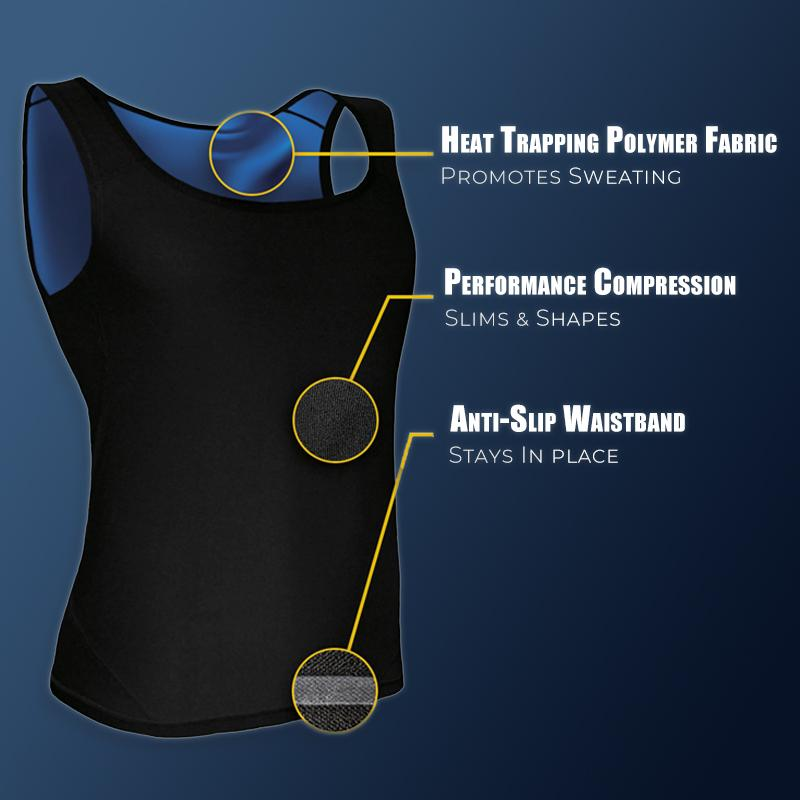 (BUY 2 GET FREE SHIPPING)  Sweat Shaper - Sauna Vest