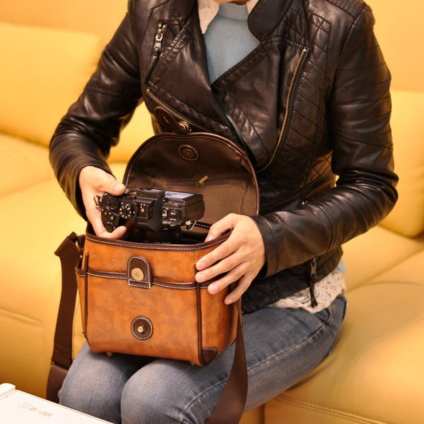 Leather Vintage Style Camera Bag - Gifts Buddies Reviews