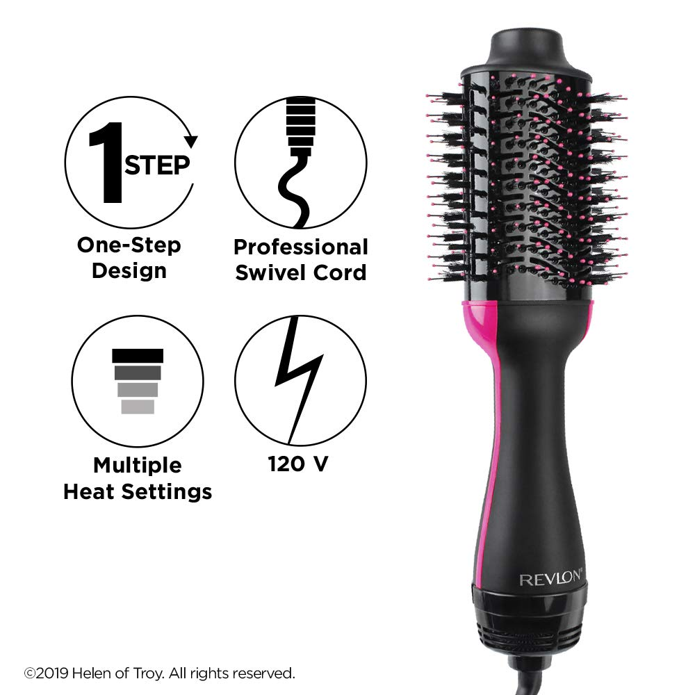 AMAZING  One-Step Hair Dryer & Volumizer