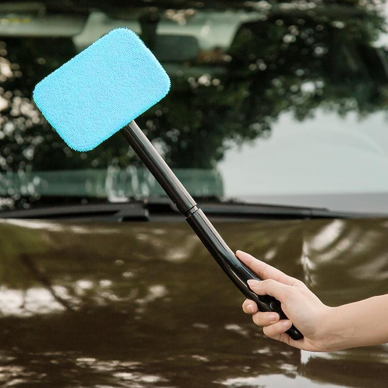 Brush Window Microfiber Wiper Cleaner Car Auto 13""