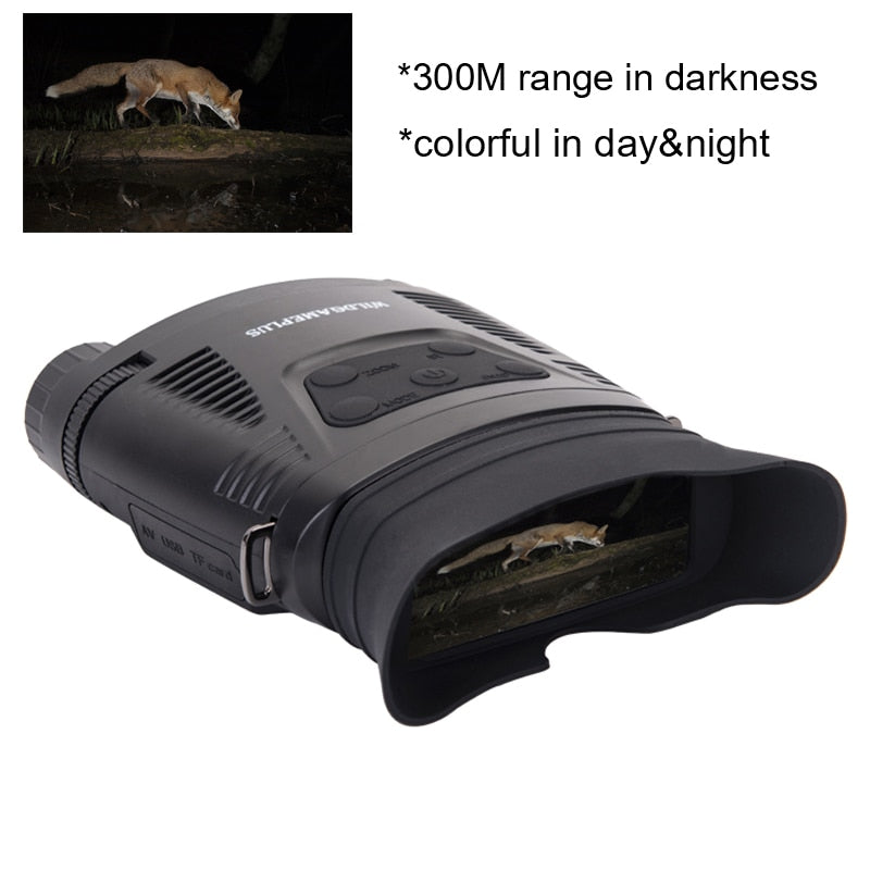 (BUY 2 GET 1 FREE) Binoculars Telescope 7X21 Zoom Digital IR Hunting Night Vision NV200C