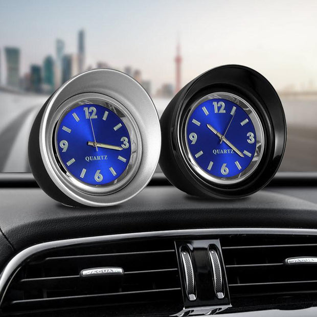 Family Avenue Moto Sports Dashboard Clock